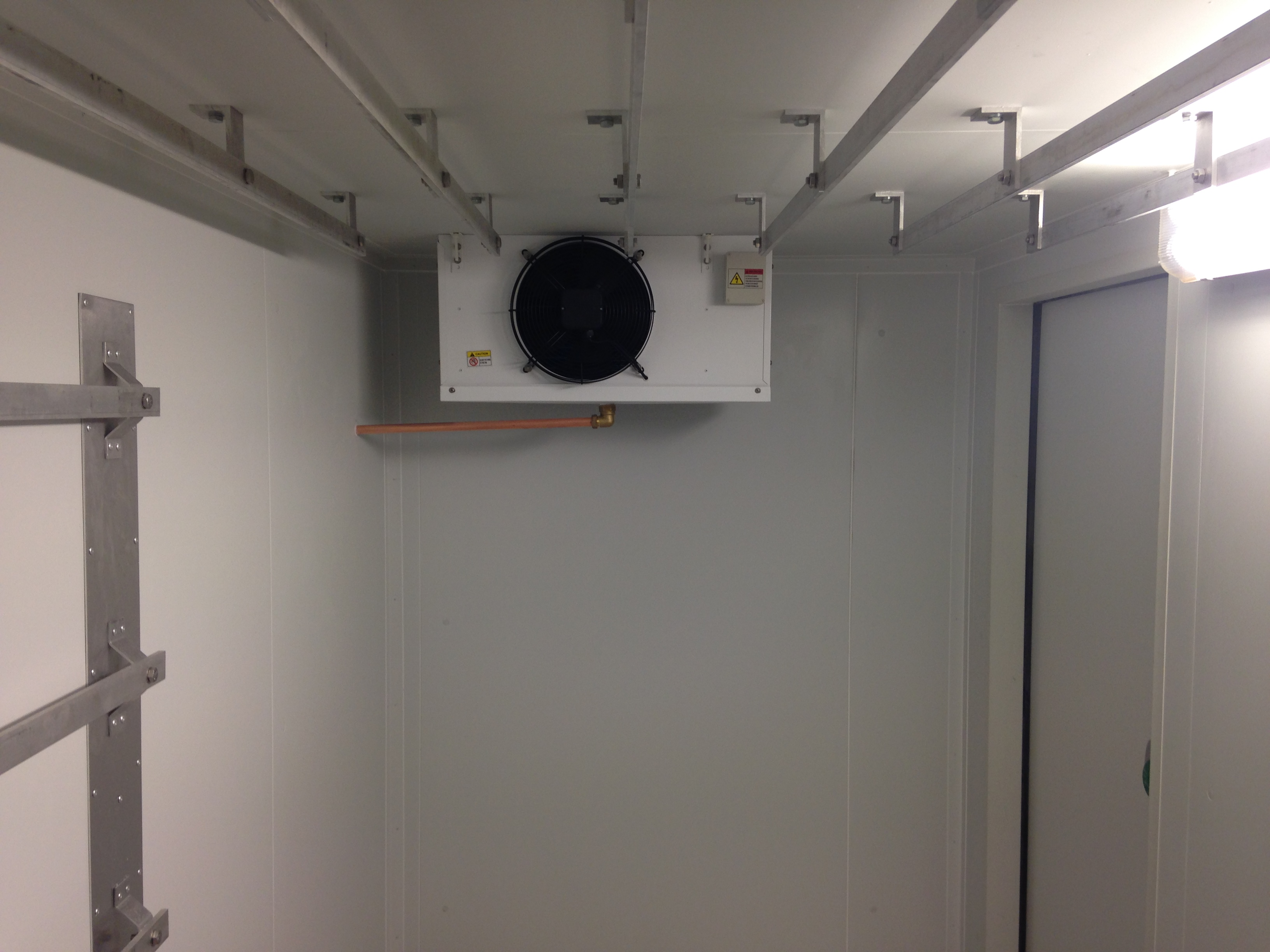 Chiller Cold Room For A Butcher In Hampshire Modular