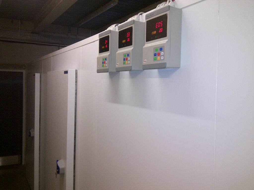 Cold Rooms For A Bakery In North London Modular Cold