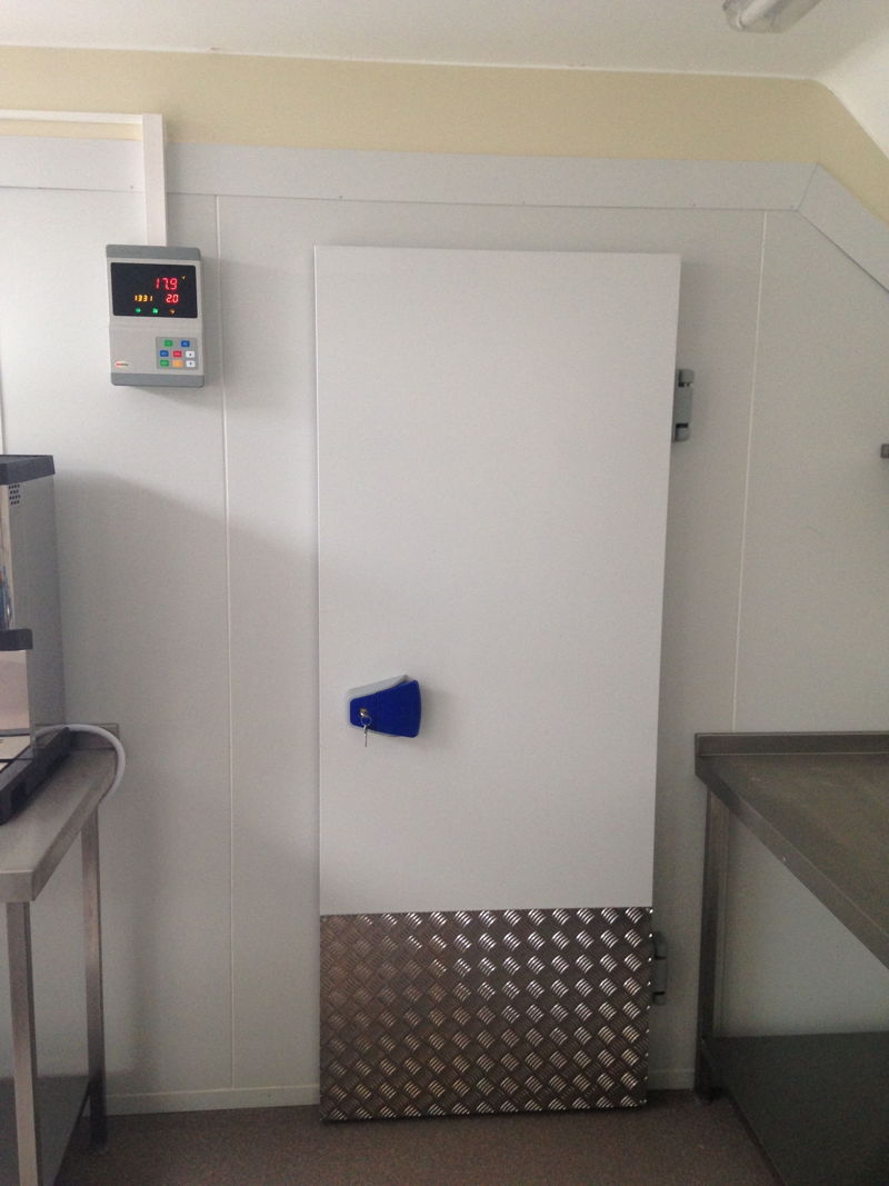 Chiller Cold Room For Care Home Modular Cold Rooms