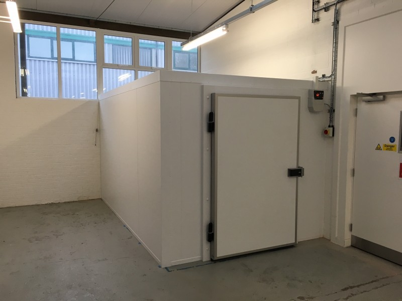 Chiller Cold Room For Chemical Company Modular Cold